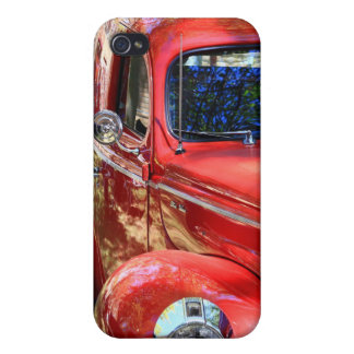 Classic Red Car iPhone 4/4S Covers