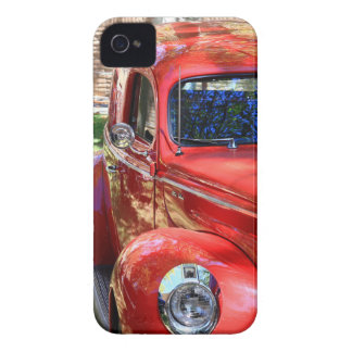 Classic Red Car iPhone 4 Cover