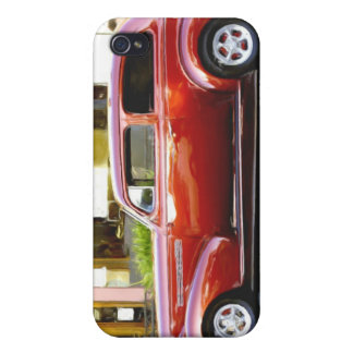 Classic Red Car iPhone 4 Covers