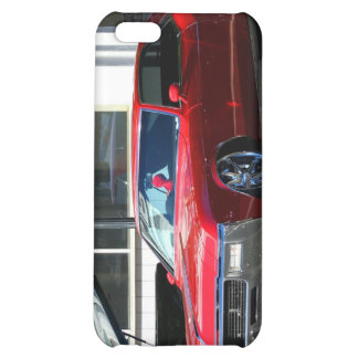Classic red car case for iPhone 5C