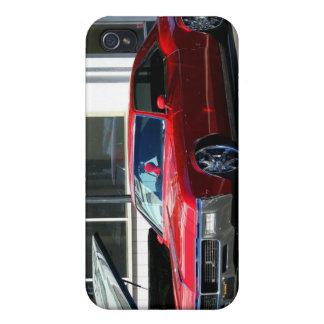 Classic red car iPhone 4 cases