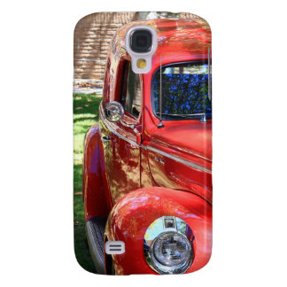 Classic Red Car Samsung Galaxy S4 Cover