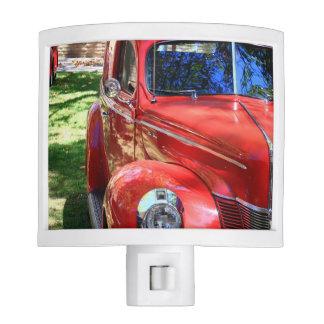 Classic Red cars Night Light