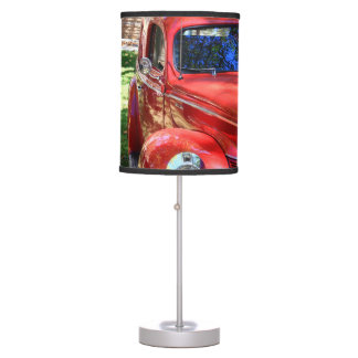 Classic Red cars Table Lamp