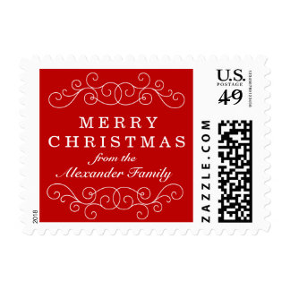 Classic Red Christmas Postage