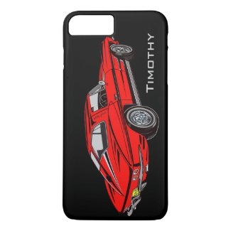 Classic Red Corvette Design Smartphone case