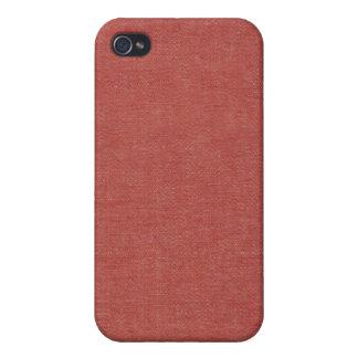 Classic Red Denim Speck Case iPhone 4