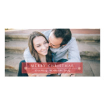 Classic Red Merry Christmas Card