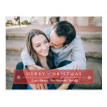Classic Red Merry Christmas Postcards
