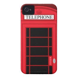 Classic Red Public Telephone Box UK: BlackBerry Bo iPhone 4 Cases