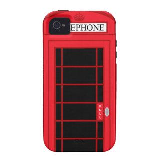 Classic Red Public Telephone Box UK: iPhone 4 Case