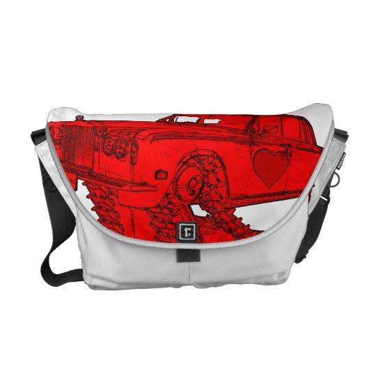 Classic Red Rolls Royce Valentine's Bag
