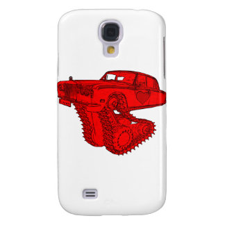 Classic Red Rolls Royce Valentine's Fantasy Galaxy S4 Cover