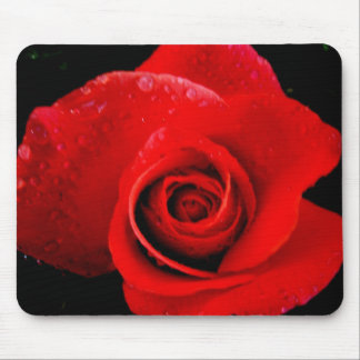 Classic Red Rose Mousepad