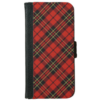 Classic Red Tartan iPhone 6/6S Wallet Case