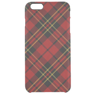 Classic Red Tartan iPhone 6+ Clear Case Uncommon Clearly™ Deflector iPhone 6 Plus Case