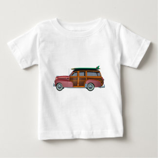 Classic Red Woody Baby T-Shirt