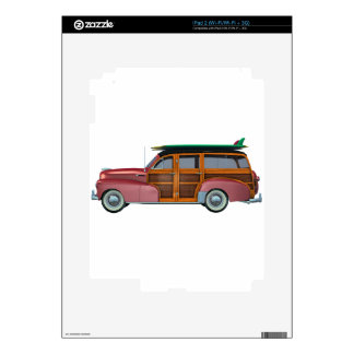 Classic Red Woody Decal For The iPad 2