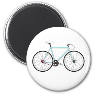 Classic Retro Bicycle 2 Inch Round Magnet