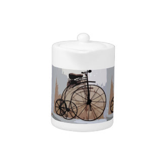 Classic Retro Bicycle Teapot by Ecinja