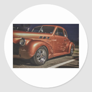 Classic Retro Car HDR Picture Photo Shirts Hat Mug Sticker