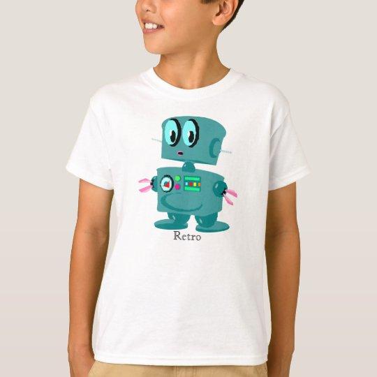 Classic retro green robot T-Shirt