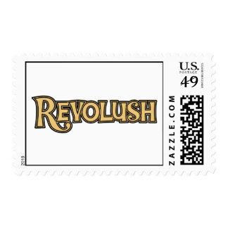 Classic Revolush Logo postage stamp
