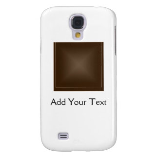 Classic Rich Chocolate Brown Galaxy S4 Cases