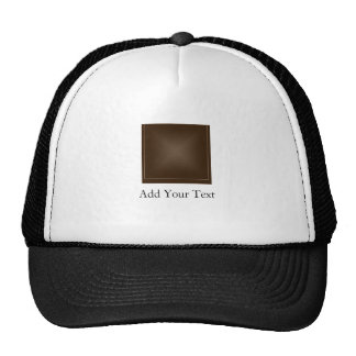 Classic Rich Chocolate Brown Hat
