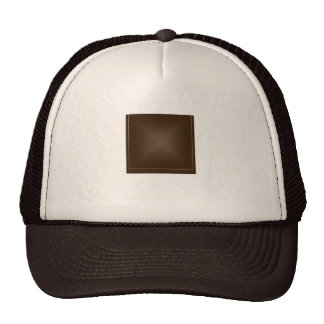 Classic Rich Chocolate Brown Mesh Hat