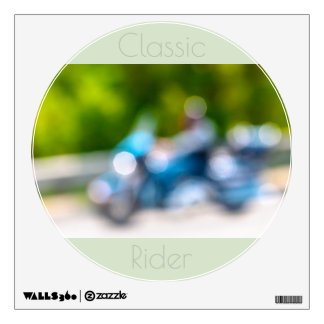 classic rider wall decal
