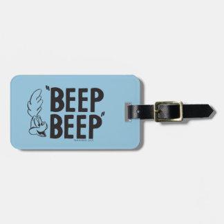 "Classic ROAD RUNNER™ ""BEEP BEEP"" Bag Tag"
