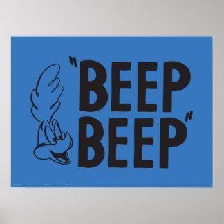 "Classic ROAD RUNNER™ ""BEEP BEEP"" Poster"