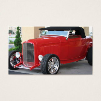 Classic Roadster Business Card