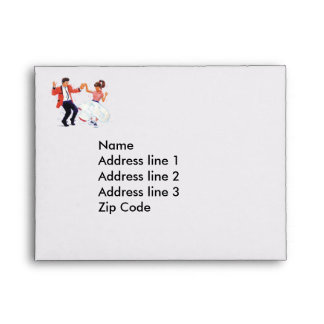 Classic Rock and Roll Dancer Envelopes