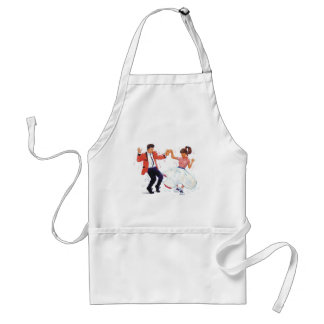 Classic Rock and Roll  Jive Dancing Adult Apron