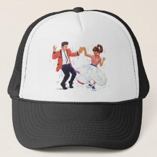 Classic Rock and Roll  Jive Dancing Trucker Hat