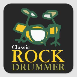 classic rock drummers stickers