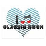 Classic Rock fan Post Card