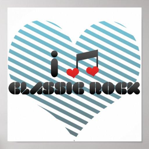 Classic Rock fan Poster