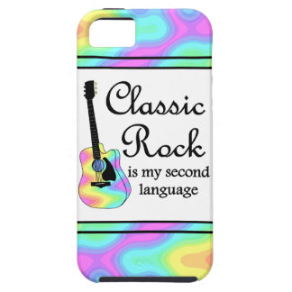 Classic Rock Is My Second Language iPhone 5 Case