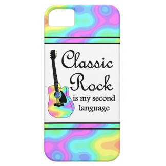 Classic Rock Is My Second Language iPhone 5 Cases