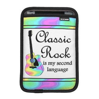 Classic Rock Is My Second Language Sleeve For iPad Mini