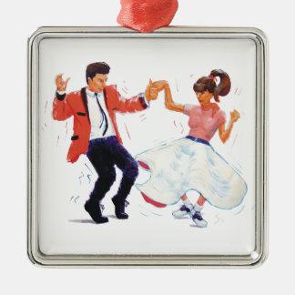 classic rock n roll jivers cartoon ornaments
