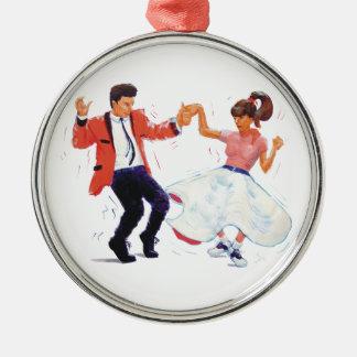 classic rock n roll jivers cartoon christmas tree ornaments
