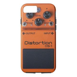 Classic Rock Orange Distortion Pedal iPhone 7 Case