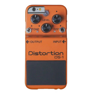 Classic Rock Orange Distortion Pedal iPhone Case! Barely There iPhone 6 Case
