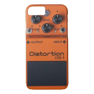 Classic Rock Orange Distortion Pedal iPhone Case! iPhone 8/7 Case