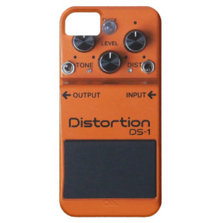 Classic Rock Orange Distortion Pedal iPhone SE/5/5s Case