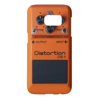 Classic Rock Orange Distortion Pedal Samsung Galaxy S7 Case